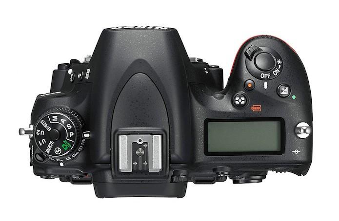 Nikon D750 vista de cima (Foto: Divulgação/Nikon)
