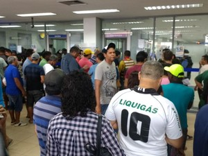 problemas, fgts, contas inativas, caixa, amapá, (Foto: Fabiana Figueiredo/G1)