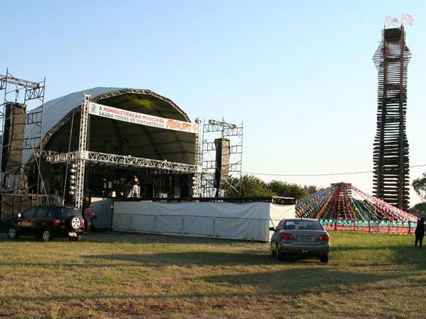 Festa Junina de Pirapozinho prossegue até sábado (25) (Foto: Divulgação/Prefeitura)