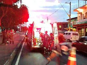 Segundo moradores, vítima seria morador de rua  (Foto: Divulgação/ Manaustrans)