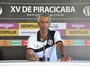 """Claudinho contesta critérios do árbitro após o empate do XV: """"Isso preocupa"""""""