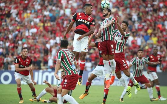 Fla-Flu. Os clubes recebem um tratamento diferente da Odebrecht em negociações pelo uso do Maracanã (Foto: Gilvan de Souza / Flamengo)
