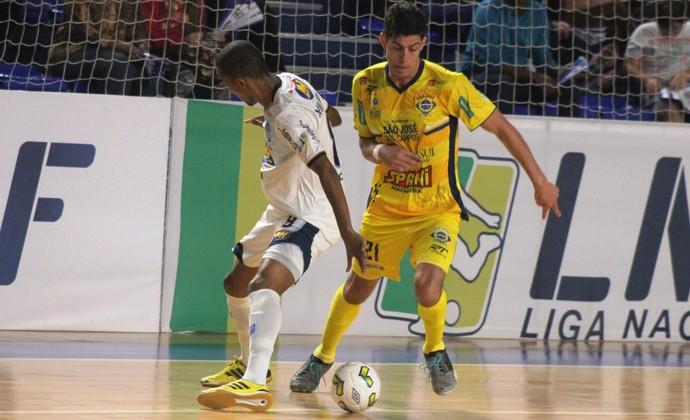 Minas Futsal x São José Futsal LNF (Foto: Brenno Domingues/Quarttus Marketing)