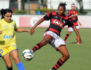 Flamengo x Tiradentes futebol feminino