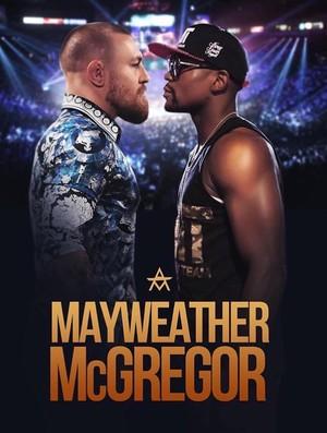 BLOG: Conor McGregor posta pôster-montagem de possível luta contra Mayweather