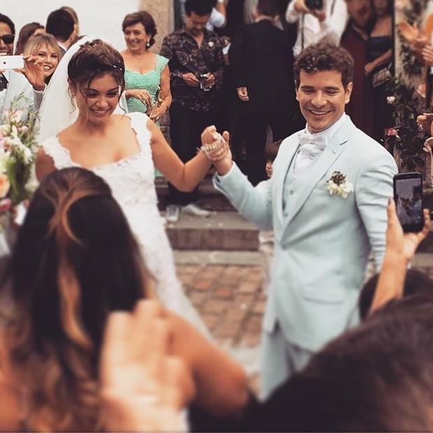Casamento Sophie Charlotte e Daniel de Oliveira (Foto: Reprodução/ Instagram)
