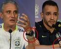 Presente de Tite a Renato Augusto, pulseira une técnico e meia na Seleção