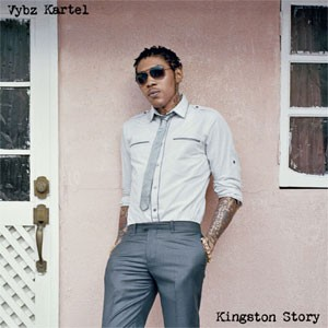 Vybz Kartel na capa de seu disco 'Kingston story' (Foto: Divulgação)