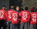 Titulares ficam na academia do CT, e Atlético-PR faz só um treino com bola
