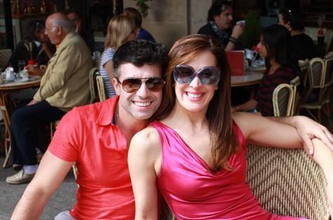 Claudia Raia e Jarbas Homem de Mello (Foto: Divulgação)
