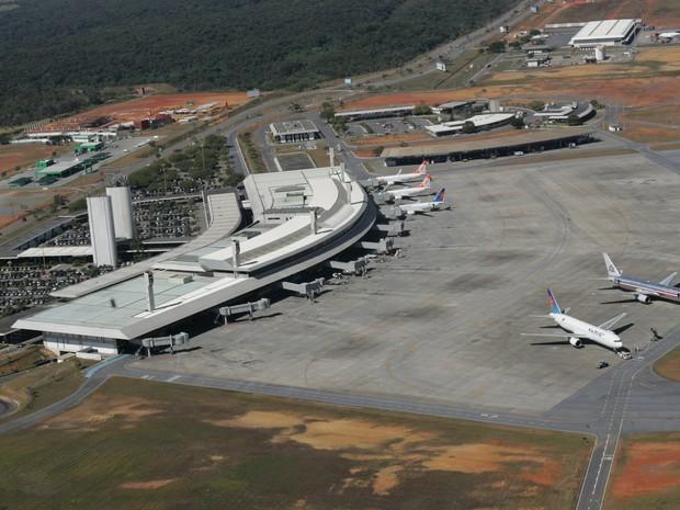 Aeroporto Confins (Foto: Acervo Infraero)