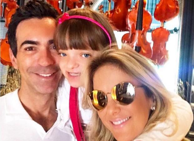 César Tralli, Rafaella Justus e Ticiane Pinheiro (Foto: Reprodução/Instagram)