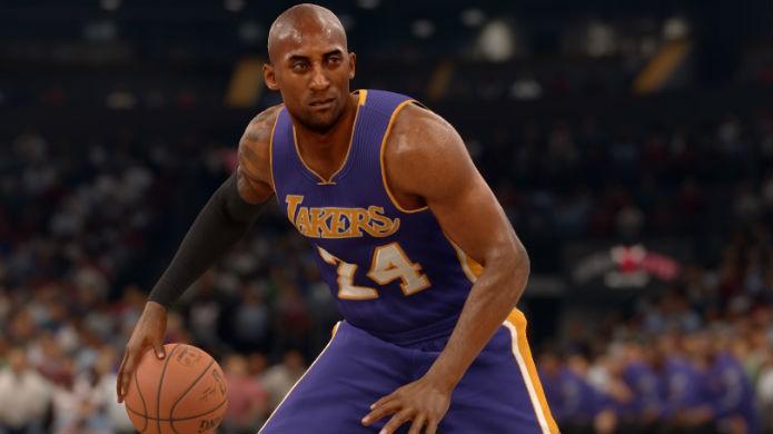 O ataque leva a melhor em NBA Live 16 (Foto: Divulgação/EA Sports)