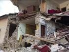 Terremoto na Itália deixa mortos e feridos