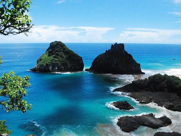 Vista do mirante no arquipélago de Fernando de Noronha (Foto: Divulgação/ Ricardo Araújo)