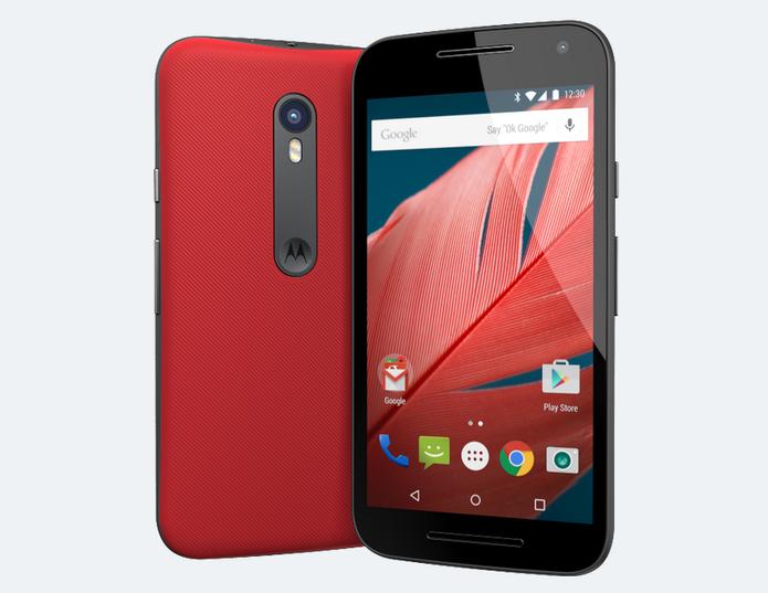Moto G3 tem chip quad-core e versões 3G e 4G (Foto: Divulgação/Motorola)