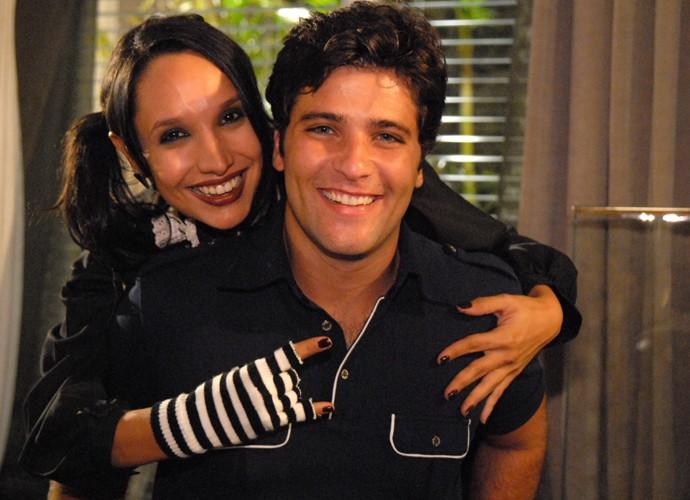 Maria Maya é só elogios aos companheiros de cena. Um deles era Bruno Gagliasso (Foto: TV Globo/Thiago Prado Neris)