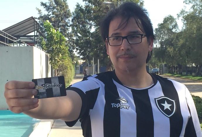 José Lizana, Botafogo, chileno alvinegro (Foto: Thiago Lima)