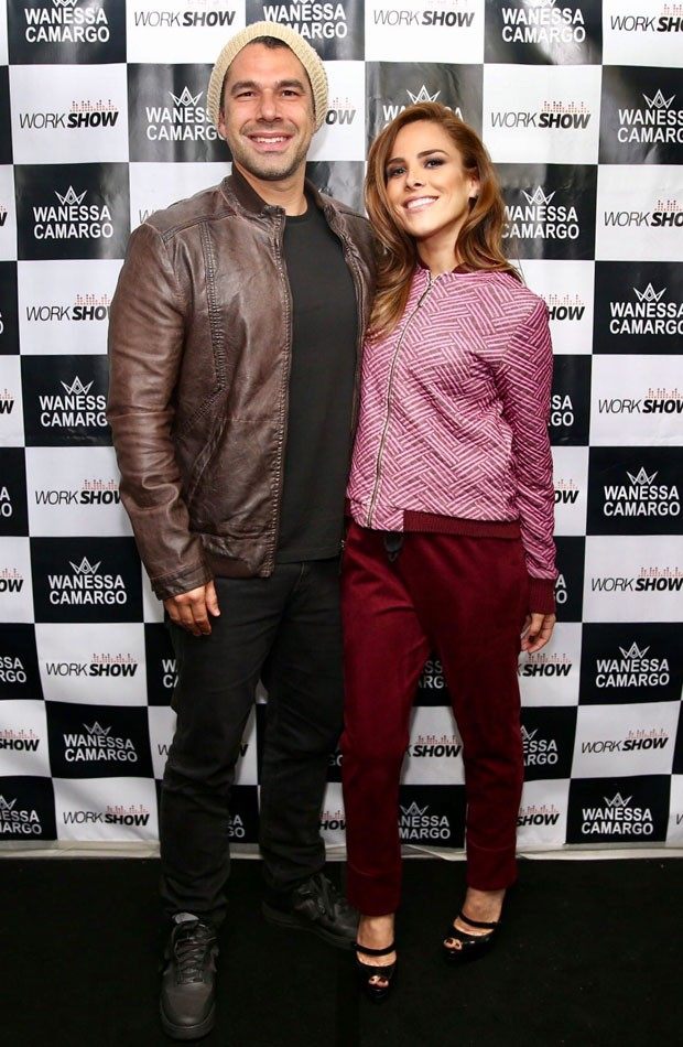 Wanessa e o marido, Marcus Buaiz (Foto: Manuela Scarpa/Brazil News)