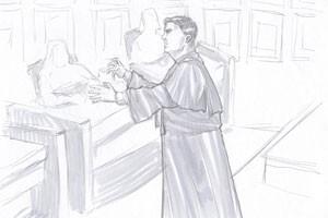advogado macarrão (Foto: Leo Aragão/G1)