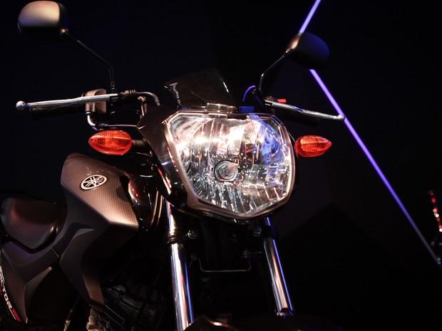Yamaha Factor 150 é apresentada no Salão Duas Rodas 2015 (Foto: Caio Kenji/G1)