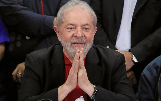 O ex-presidente Lula (Foto:  Nacho Doce/REUTERS)