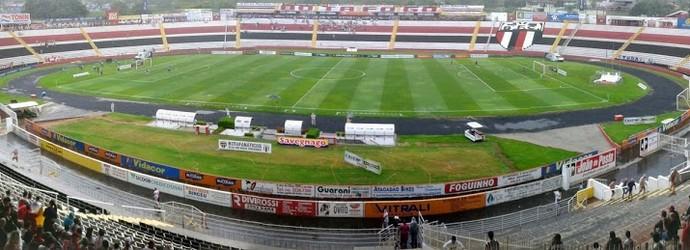 Estádio Santa Cruz, em Ribeirão Preto (Foto: Rodolfo Tiengo)