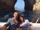 Di Ferrero e Isabelli Fontana curtem viagem na Itália