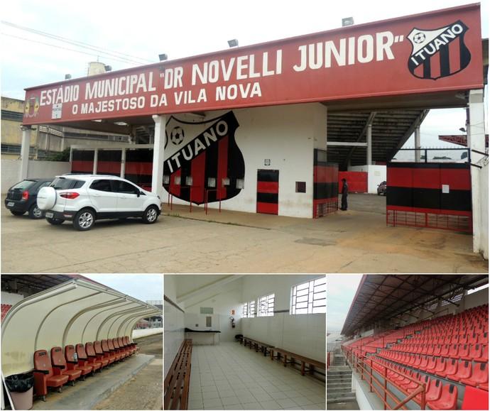 Novelli Júnior (Foto: Rômulo Alcoforado (GloboEsporte.com))
