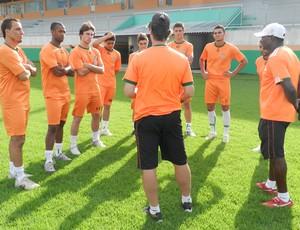 Apresentação do elenco do Camboriú para o Campeonato Catarinense (Foto: Divulgação, Camboriú FC)