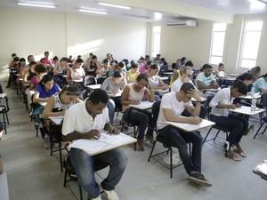 Mais de 30 mil candidatos fizeram provas no domingo (Foto: Alfredo Filho/Secom)