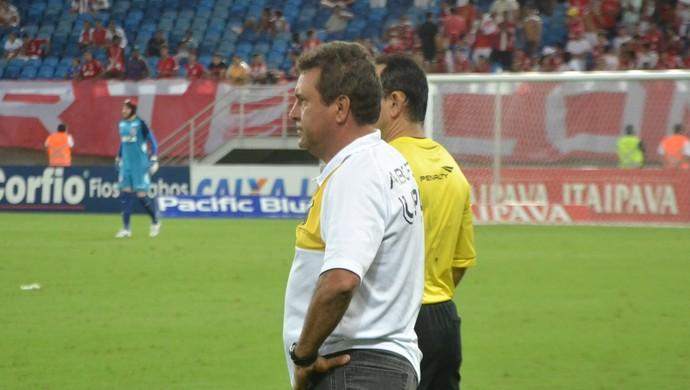 Zé Teodoro, técnico do ABC (Foto: Jocaff Souza/GloboEsporte.com)