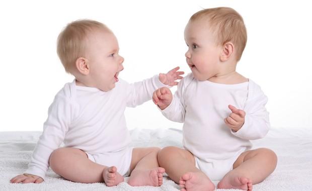 Bebês irmãos  (Foto: Shutterstock)