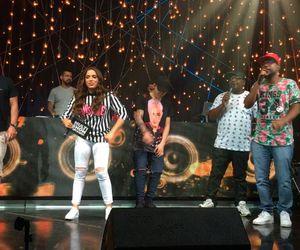 Buchecha, MC Marcinho e MC Leozinho fazem baile funk no Música Boa Ao Vivo
