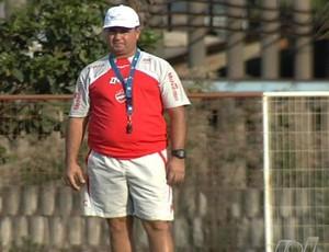Ney da Matta, técnico do Vila Nova (Foto: Reprodução/TV Anhanguera)