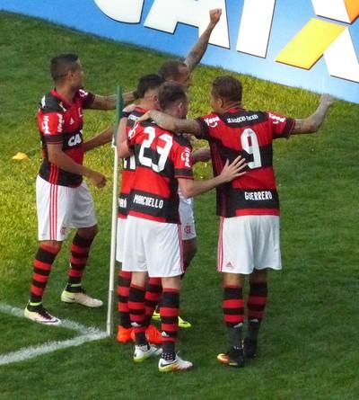 Coritiba Flamengo (Foto: Richard Souza)
