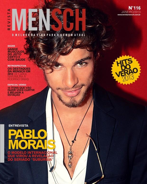 Pablo Morais na MENSCH (Foto: Divulgação / Revista MENSCH)