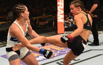 """Curtinhas: Tate usou dois sutiãs em luta para evitar """"acidente"""" no UFC"""