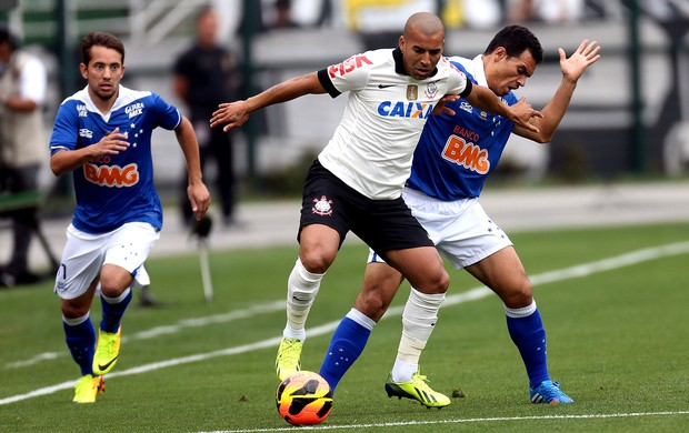 Emerson Sheik Corinthians e Ceará Cruzeiro série A (Foto: JF Diorio / Agência Estado)