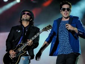 Jota Quest se apresenta no Palco Mundo no Rock in Rio 2013 (Foto: Flavio Moraes/G1)