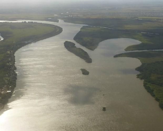 O Rio Guaiba é um dos pontos turísticos de Porto Alegre (Foto: Domingão do Faustão/TVGlobo)