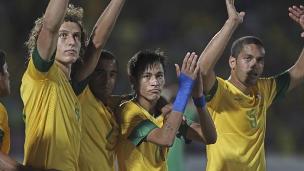 Rômulo, do Spartak Moscou, na Seleção Brasileira (Foto: Divulgação/CBF)