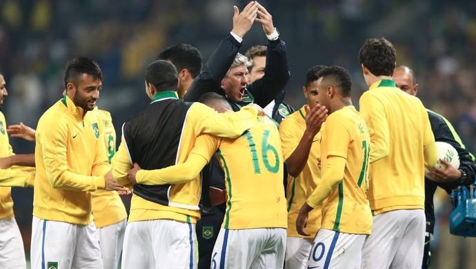 Odair Hellman Auxiliar Seleção Brasileira Olímpica (Foto: Lucas Figueiredo/Mowa Press)