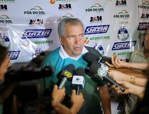 Marcos Birigui treinador do Sorriso (Foto: Divulgação)