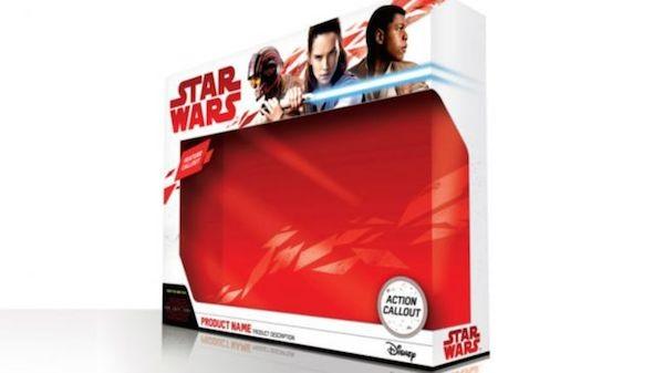 A embalagem de brinquedo de 'Star Wars: Episódio VIII' (Foto: Reprodução)