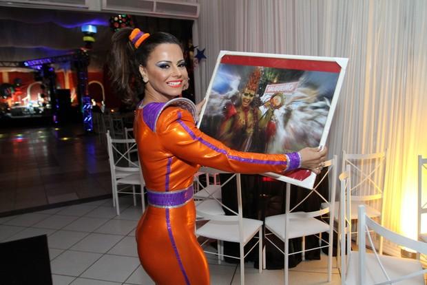 Viviane Araújo (Foto: Anderson Borde / AgNews)