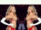 Multiplica! Candice Swanepoel aparece 'duplicada' em foto de lingerie