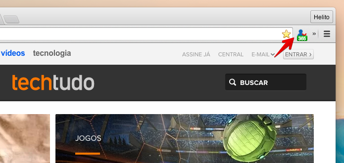 Instale a extensão em seu navegador (Foto: Reprodução/Helito Bijora)