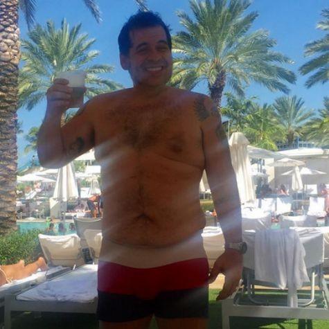 Leandro Hassum: 46kg mais magro (Foto: Reprodução)
