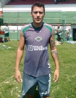 Marcos Paraná vai atuar pela Cabofriense no Carioca (Foto: Andreia Maciel/Cabofriense)